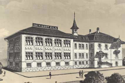 Первая фабрика Tissot в Ле-Локле