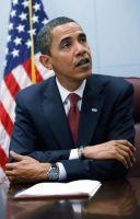 Президент США Барак Обама носит часы Jorg Gray 6500