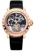 4 место - Владимир Артяков, часы DeWitt Academia Tourbillon Differentiel rose gold.