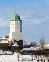 Выборгский замок, главный символ нынешнего Выборга.
