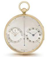 """Breguet Fils, Paris, No. 2667 """"Montre plate a deux mouvements, sur le principe des chronometres"""""""