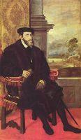 Портрет Карла V в кресле