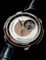 В стремлении достичь небывалой экспрессии, мастера предлагают модели, в которых турбийон вращается не только вокруг своей оси, но также и делает полный оборот вокруг циферблата за один час. В модели Jean Dunand Tourbillon Orbital на полный оборот требуется 60 секунд и один час соответственно
