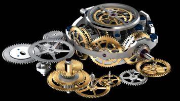 Шестереночный механизм: передача энергии и предсказывание времени