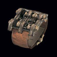 Часы Pacifique, одна из шести моделей коллекции Titanic-DNA by Cabestan от Romain Jerome, вышедших ограниченным тиражом