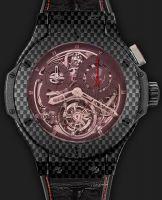 Hublot Big Bang Chrono Tourbillon Ferrari 44mm REF 308.QX.1110.HR.SCF11