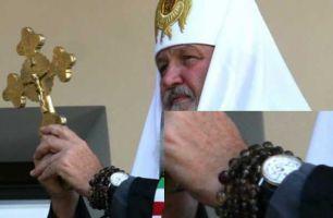 Патриарх Кирилл видимо забыл отдать монетку, как результат - скандал