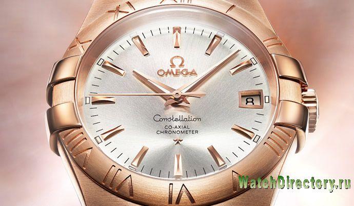 Часы Omega Constellation Manhattan