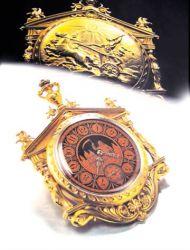 Часы Omega Greek Temple из чистого золота