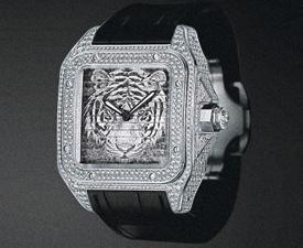 Cartier Santos 100 Triple