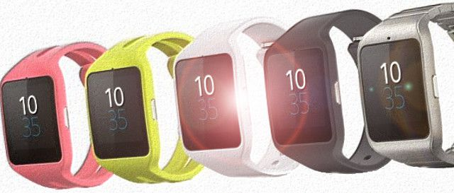 Часы Sony SmartWatch 3