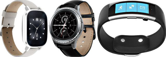 ASUS ZenWatch 2, Samsung Gear S2 Classic и Microsoft Band 2