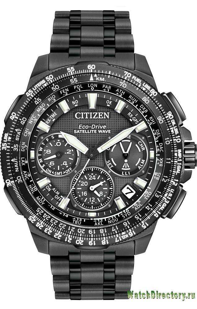 Citizen PROMASTER NAVIHAWK GPS in Super Titanium™ CC9025-85E